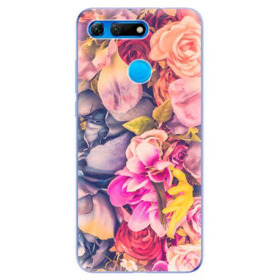 iSaprio Silikónové puzdro - Beauty Flowers pre Honor View 20