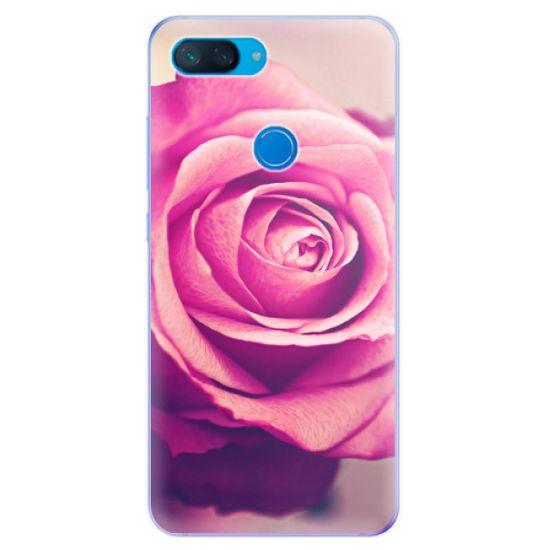 iSaprio Silikonové pouzdro - Pink Rose pro Xiaomi Mi 8 Lite