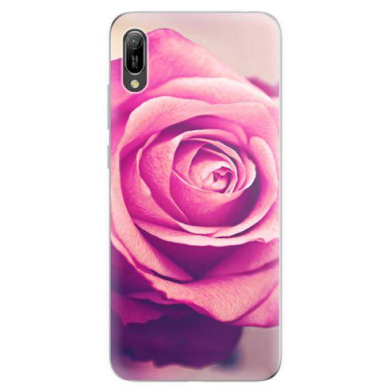 iSaprio Silikonové pouzdro - Pink Rose pro Huawei Y6 2019