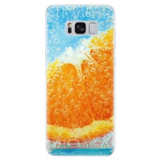 iSaprio Silikonové pouzdro - Orange Water pro Samsung Galaxy S8