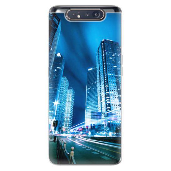 iSaprio Silikónové puzdro - Night City Blue pre Samsung Galaxy A80