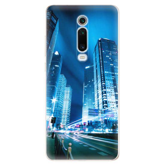 iSaprio Silikonové pouzdro - Night City Blue pro Xiaomi Mi 9T Pro