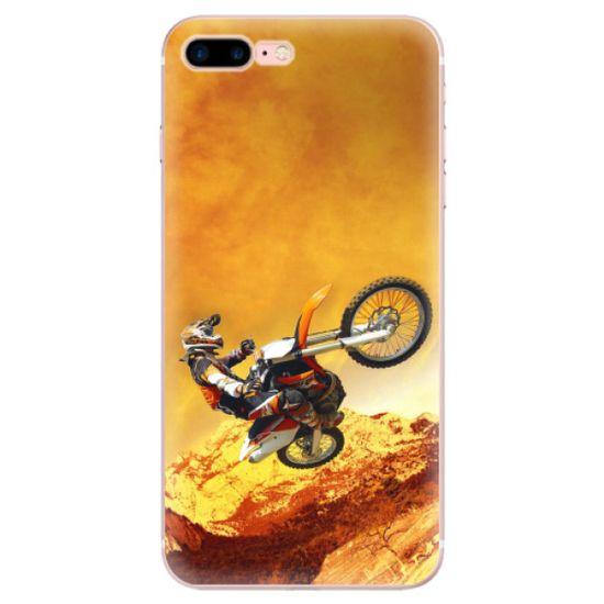 iSaprio Silikonové pouzdro - Motocross pro Apple iPhone 7 Plus / 8 Plus