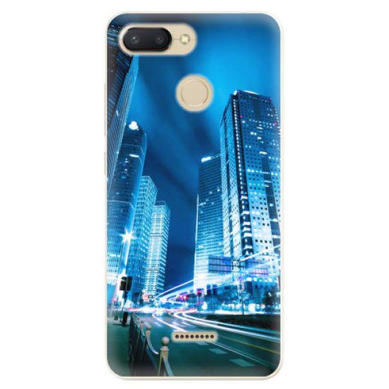 iSaprio Silikónové puzdro - Night City Blue pre Xiaomi Redmi 6