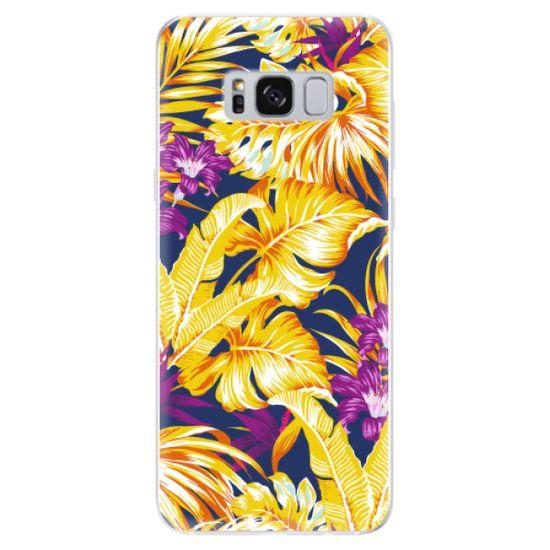 iSaprio Silikonové pouzdro - Tropical Orange 04 pro Samsung Galaxy S8
