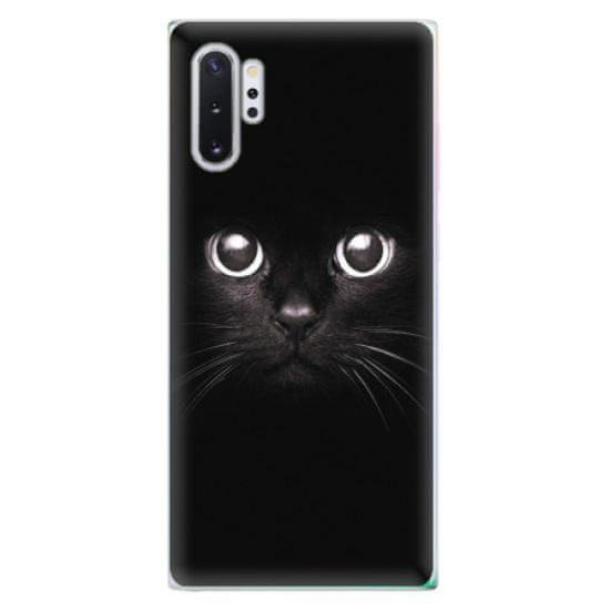 iSaprio Silikónové puzdro - Black Cat pre Samsung Galaxy Note 10+