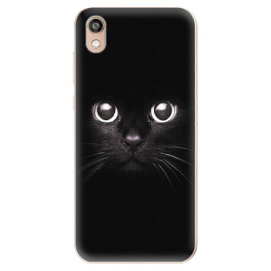 iSaprio Silikónové puzdro - Black Cat pre Honor 8S