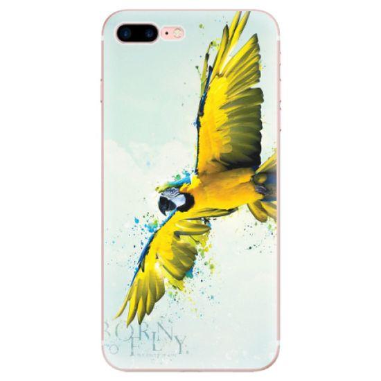 iSaprio Silikónové puzdro - Born to Fly pre Apple iPhone 7 Plus / 8 Plus