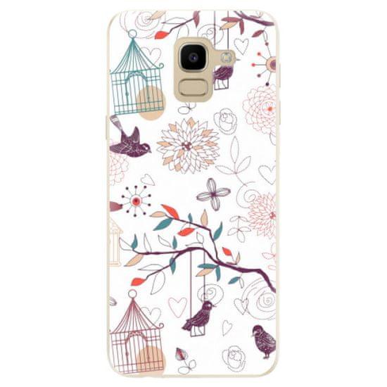 iSaprio Silikonové pouzdro - Birds pro Samsung Galaxy J6
