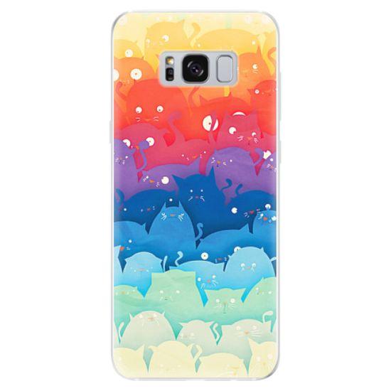 iSaprio Silikonové pouzdro - Cats World pro Samsung Galaxy S8