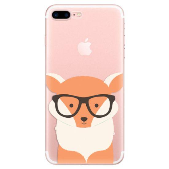 iSaprio Silikónové puzdro - Orange Fox pre Apple iPhone 7 Plus / 8 Plus