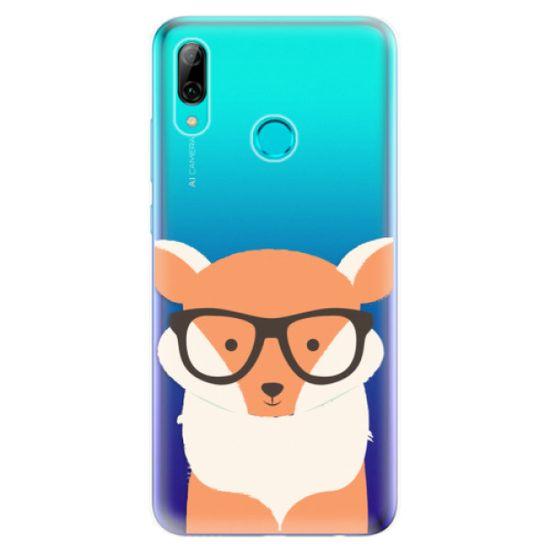 iSaprio Silikónové puzdro - Orange Fox pre Huawei P Smart 2019
