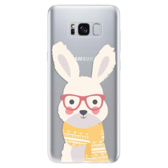 iSaprio Silikónové puzdro - Smart Rabbit pre Samsung Galaxy S8