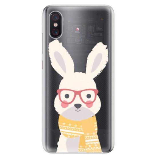 iSaprio Silikónové puzdro - Smart Rabbit pre Xiaomi Mi 8 Pro