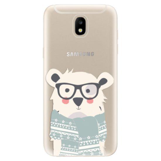 iSaprio Silikónové puzdro - Bear with Scarf pre Samsung Galaxy J5 (2017)