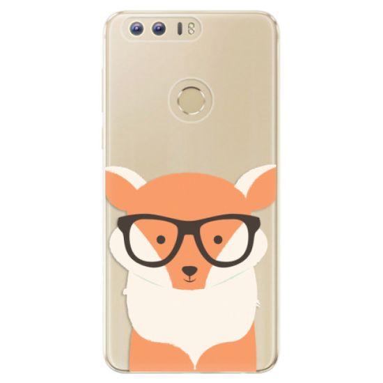 iSaprio Silikonové pouzdro - Orange Fox pro Honor 8