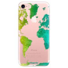 iSaprio Silikonové pouzdro - Cold Map pro Apple iPhone 7 / 8