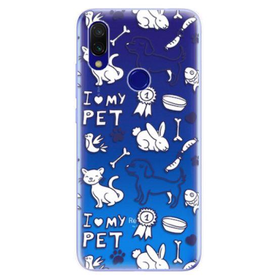 iSaprio Silikónové puzdro - Love my pets pre Xiaomi Redmi 7