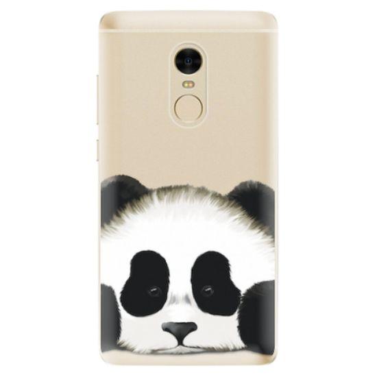 iSaprio Silikónové puzdro - Sad Panda pre Xiaomi Redmi Note 4