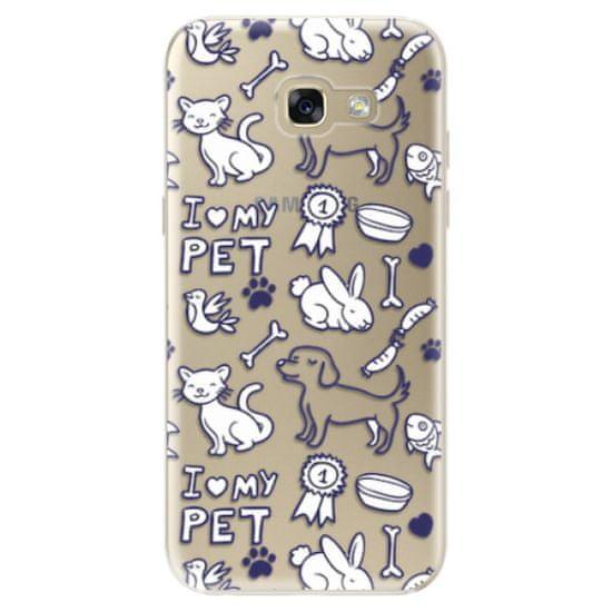 iSaprio Silikonové pouzdro - Love my pets pro Samsung Galaxy A5 2017