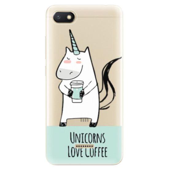 iSaprio Silikónové puzdro - Unicorns Love Coffee pre Xiaomi Redmi 6A