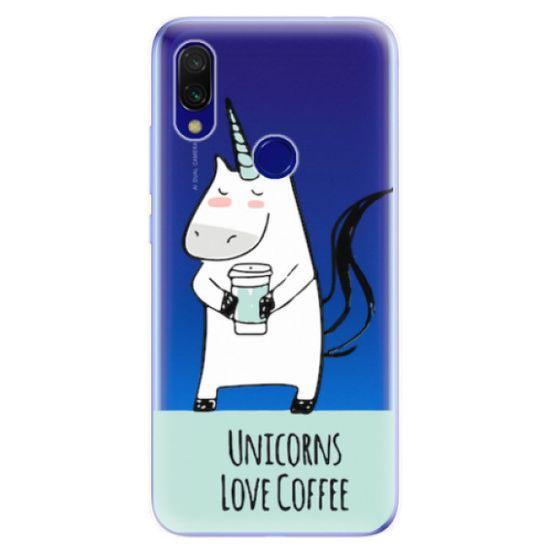 iSaprio Silikónové puzdro - Unicorns Love Coffee pre Xiaomi Redmi 7
