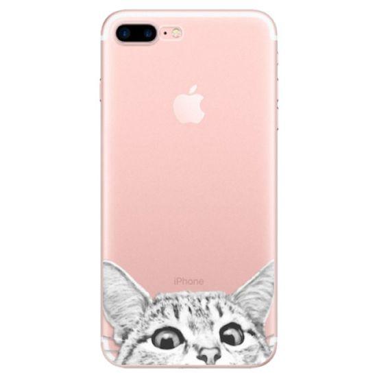 iSaprio Silikónové puzdro - Cat 02 pre Apple iPhone 7 Plus / 8 Plus