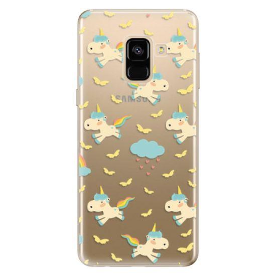 iSaprio Silikonové pouzdro - Unicorn pattern 01 pro Samsung Galaxy A8 2018