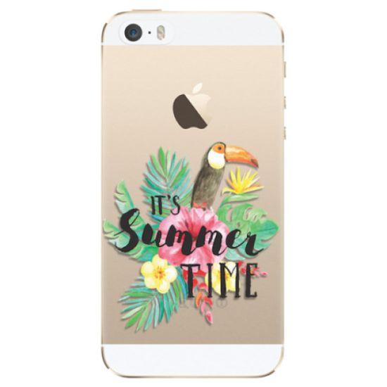 iSaprio Silikónové puzdro - Summer Time pre Apple iPhone 5/5S/SE