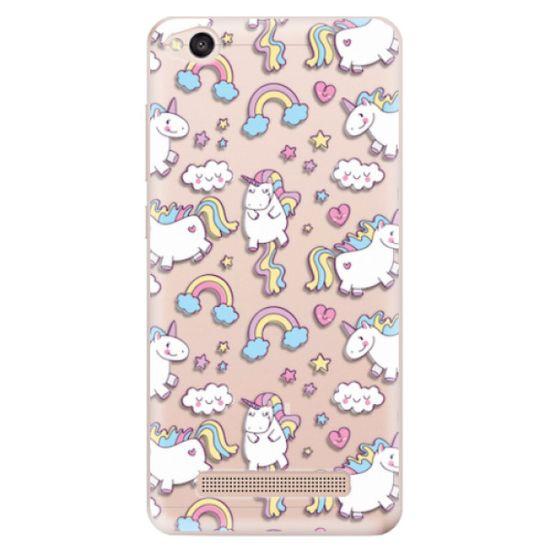 iSaprio Silikónové puzdro - Unicorn pattern 02 pre Xiaomi Redmi 4A