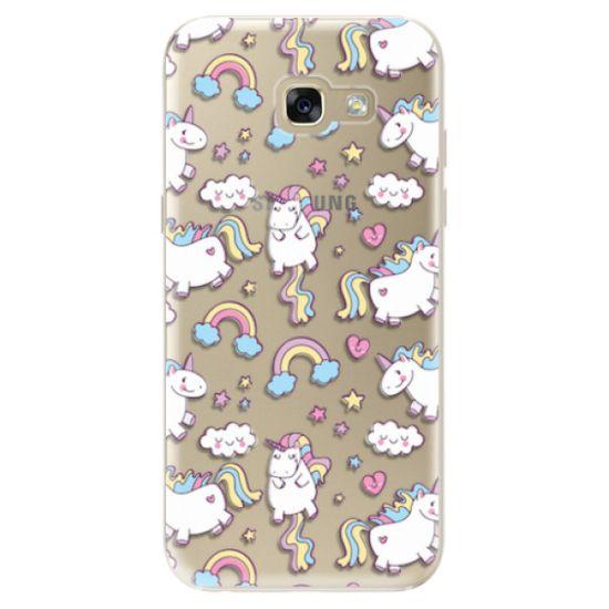 iSaprio Silikónové puzdro - Unicorn pattern 02 pre Samsung Galaxy A5 (2017)