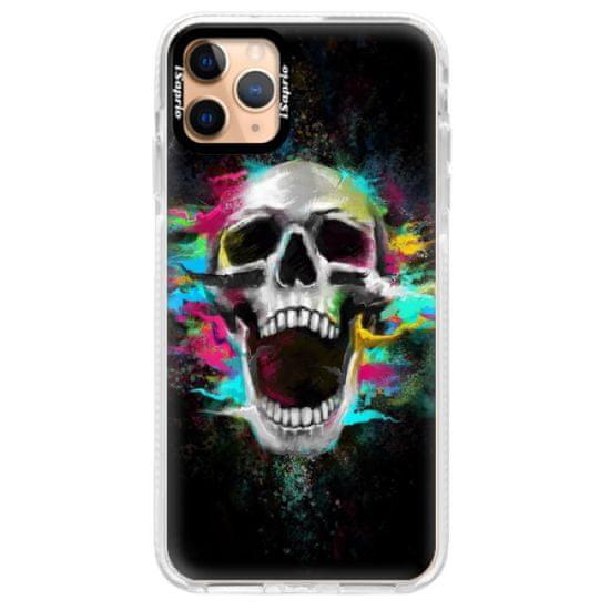 iSaprio Silikonové pouzdro s bumperem - Skull in Colors pro Apple iPhone 11 Pro Max