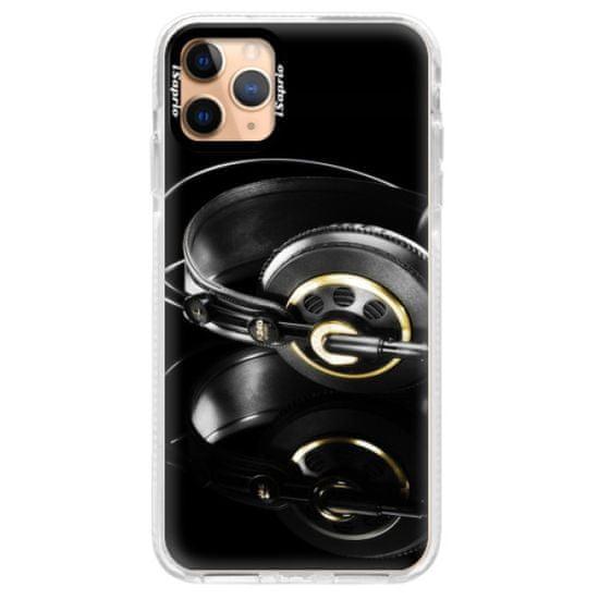 iSaprio Silikónové puzdro s bumperom - Headphones 02 pre Apple iPhone 11 Pro Max