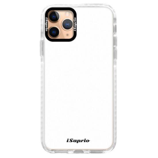 iSaprio Silikónové puzdro s bumperom - 4Pure - white pre Apple iPhone 11 Pro