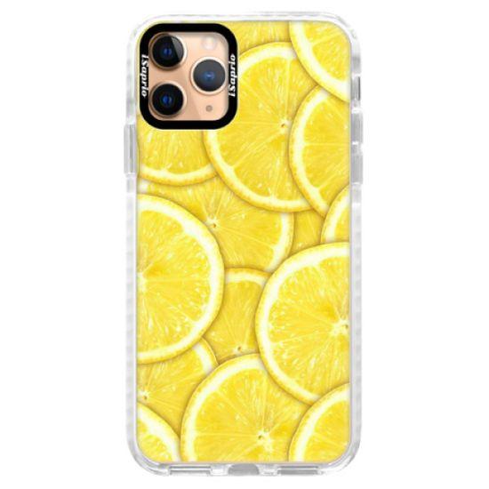 iSaprio Silikonové pouzdro s bumperem - Yellow pro Apple iPhone 11 Pro