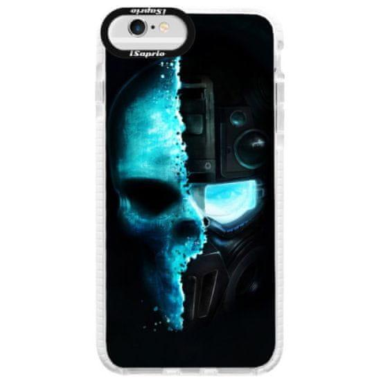 iSaprio Silikónové puzdro s bumperom - Roboskull pre Apple iPhone 6 Plus