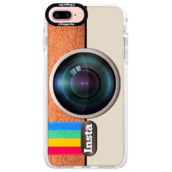 iSaprio Silikonové pouzdro s bumperem - Insta pro iPhone 7 Plus