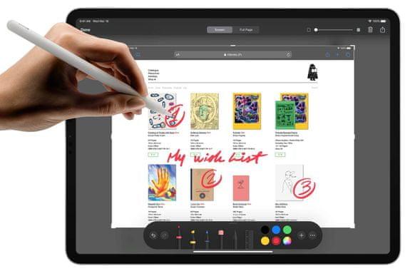 Apple iPad Pro 12,9 2020, Wi-Fi, A13 Bionic, nejvýkonnější čip procesor, supervýkonný, úsporný, strojové učení
