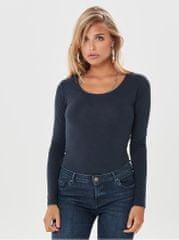 Jacqueline de Yong tmavě modré basic tričko Ava