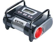 Extol Premium Kompresor auto 12V, automatický s LCD a světlem, 12V, 6,9bar, CC 140