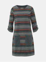 Brakeburn šedé pruhované šaty