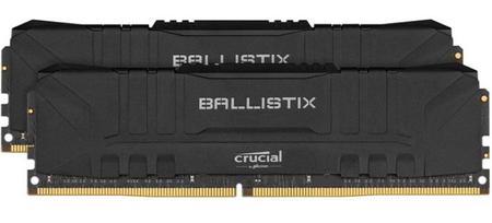 Crucial Ballistix 16GB Kit (2x8GB), DDR4, 3200MHz, DIMM, CL16 pomnilnik, črn (BL2K8G32C16U4B)