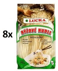 Lucka Rezance ryžové bezlepkové 7mm 8 × 240 g
