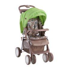 Lorelli otroški voziček FOXY Beige&Green Lams 2019, bež/zelen