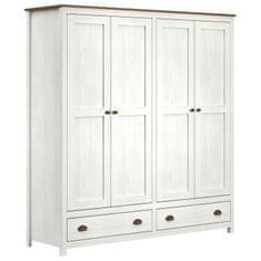 IDEA nábytok Skriňa 4-dverová TOPAZIO