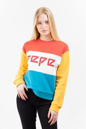 Pepe Jeans bluza damska Primrose PL580963 XS czerwono niebieska