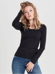 Jacqueline de Yong černé basic tričko Ava