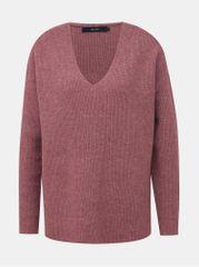 Vero Moda hnědý basic svetr Blakely