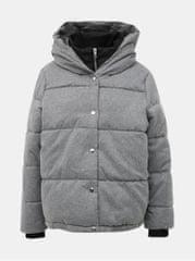ONLY šedá prošívaná zimní bunda Vikki