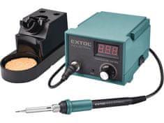 Extol Industrial Stanice pájecí s LCD a el. regulací teploty, záruka 3 roky